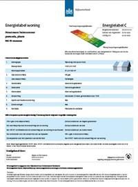 Energielabel voor woningen verplicht per januari 2015.